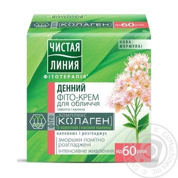 Крем для обличчя Чистая линия Фітотерапія 60+ денний 45мл - купити, ціни на Novus - фото 1
