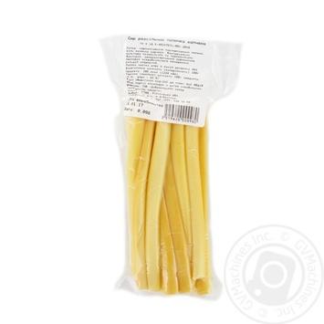 Сыр рассольный палочка копченая - купить, цены на Ашан - фото 1
