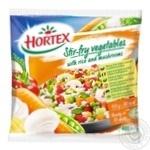 Овощи для жарки Hortex с рисом и шампиньонами 400г