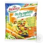 Овочі для смаження Hortex з приправою по-східному 400г