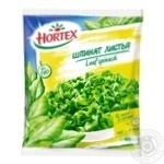 Hortex шпинат листовий 400гр