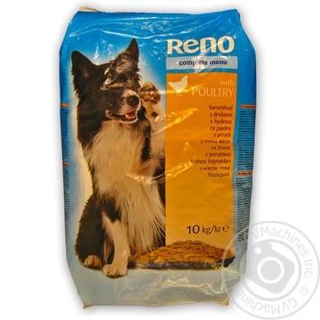 Корм Reno для собак сухой птица 10кг