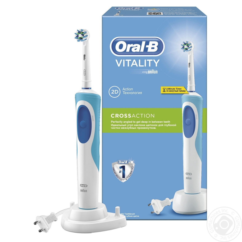 Електрична зубна щітка Oral-B Vitality Cross Action → Гігієна ... a6d9dc384bee3