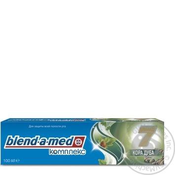 Зубная паста Blend-A-Med Комплекс Отбеливание + Природная свежесть Мята и эвкалипт 100мл - купить, цены на Ашан - фото 7