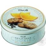 Печиво Тіволі апельсинове Jacobsens150г