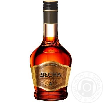 Shustov Desna Cognac 4* 0.25l - buy, prices for Novus - image 2