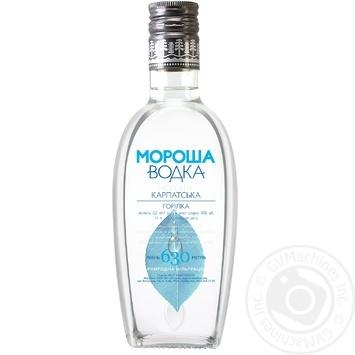 Горілка Мороша Карпатська 40% 0,2л - купити, ціни на Novus - фото 1