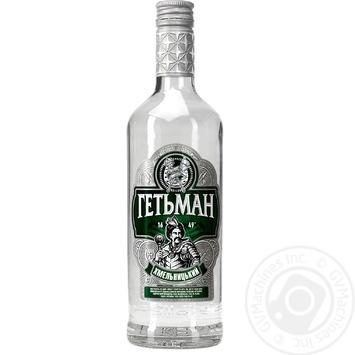 Водка Гетьман Хмельницкий на укропе 0,5л - купить, цены на Фуршет - фото 2