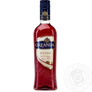 Вермут Oreanda Rosso 0.5л - купить, цены на Фуршет - фото 1
