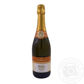 Вино игристое Fiorelli pesca белое полусладкое персик 0,75л