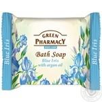 Мыло Green Pharmacy Голубой ирис с маслом арганы туалетное 100г