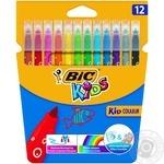 Фломастеры цветные Bic Kids Couleur 12шт