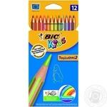 Набір олівців 12 кол. BIC Kids Tropicolors 832566