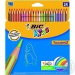 Карандаши цветные BIC 24 Kids Tropicolors 24шт