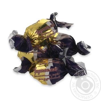 Конфеты Злата Чернослив с грецким орехом глазиров кг