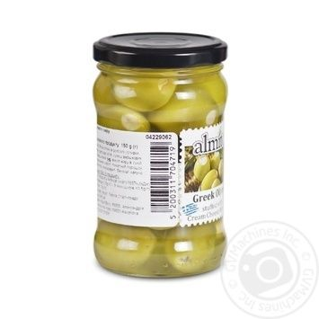 olive Almito green stuffed 270g glass jar Greece - buy, prices for Novus - image 2