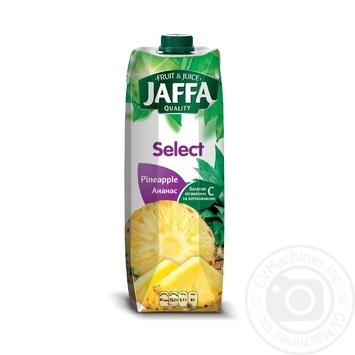 Нектар Jaffa Select Ананасовий 0,95л - купити, ціни на Метро - фото 1