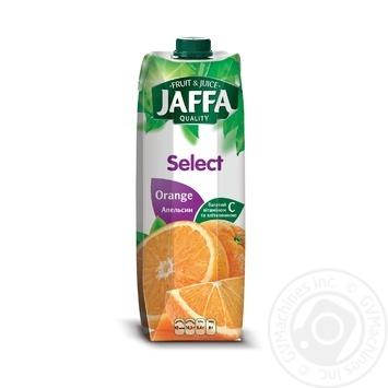 Нектар Jaffa Select Апельсиновый 0,95л - купить, цены на Novus - фото 1