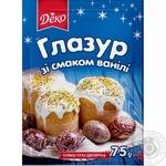 Glaze Lyubystok with vanilla for baking 75g