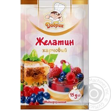Желатин пищевой Добрик 15г