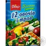 Приправа Любисток 12 Овощей и трав 200г