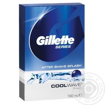 Лосьон після гоління Gillette Series Cool Wave 100мл