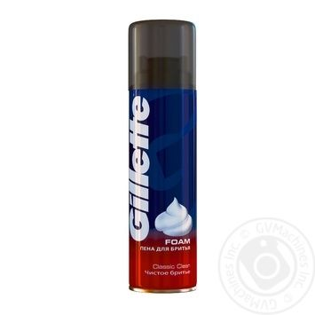 Gillete Classic Clean Shaving Foam
