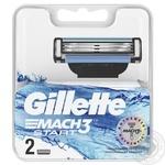 Кассеты для бритья Gillette Mach3 Start сменные 2шт
