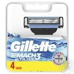 Касетти змінні для гоління GILLETTE MACH3 Start 4шт