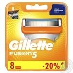 Сменные картриджи для бритья Gillette Fusion 8шт