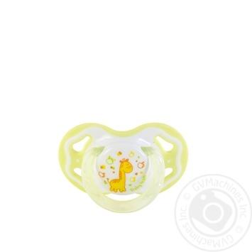 Пустышка Baby Team силиконовая классическая 6мес+ - купить, цены на Novus - фото 3
