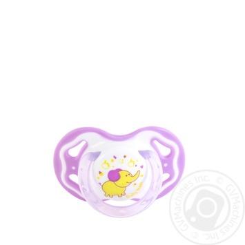 Пустышка Baby Team силиконовая классическая 6мес+ - купить, цены на Novus - фото 2