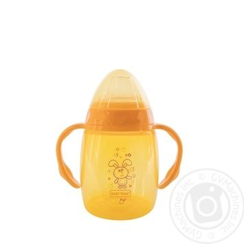 Baby team Drinking bowl silicone with a tube of 250 ml - buy, prices for Furshet - image 2