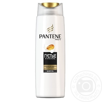 Шампунь Pantene Густые и крепкие 250мл - купить, цены на Ашан - фото 1