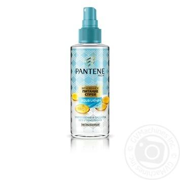 Спрей для волос Pantene Aqua Light Легкий питательный 150мл - купить, цены на Novus - фото 1