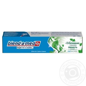 Зубная паста Blend-a-med Комплекс 7 Кора Дуба 100мл - купить, цены на МегаМаркет - фото 1