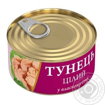 Fish tuna Fish line in own juice 95g - buy, prices for Novus - image 1