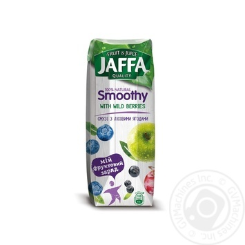 Jaffa Smoothy with forest berries 0,25l - buy, prices for Auchan - image 1