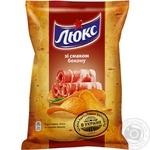 Чіпси Люкс зі смаком бекону 71г