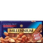 Millennium Golden Nut Milk Chocolate with Whole Almonds 90g - buy, prices for Furshet - image 1