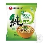 Soup Nongshim vegetable noodles 112g