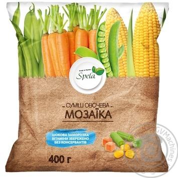 Смесь овощная для жарки ТМ Spela Мозаика 400г