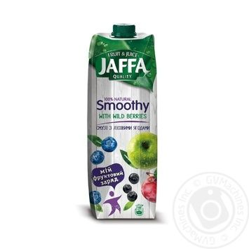 Jaffa Smoothy with forest berries 0,95l - buy, prices for Auchan - image 1