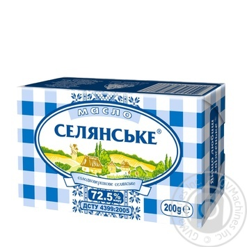 Selyanske Creamy-Sweet Butter 72.5% - buy, prices for Novus - image 1
