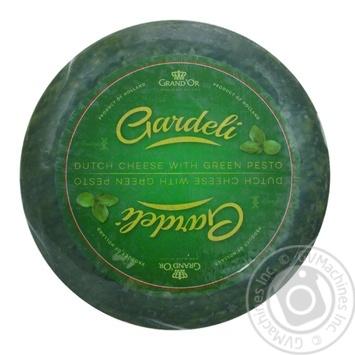Сыр Gardeli Гауда Песто зелёный 50%