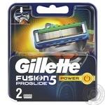 Змінні картриджі для гоління Gillette Fusion5 ProGlide Power 2шт - купити, ціни на Novus - фото 1