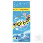 Стиральный порошок Gala Морская свежесть для цветного белья 8кг - купить, цены на Ашан - фото 1