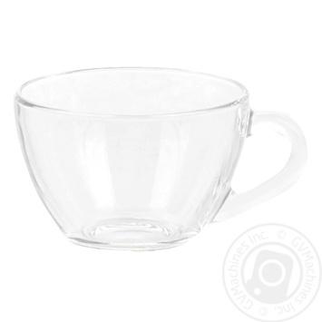 Чашка ОСЗ Прага стеклянная 200мл шт - купить, цены на Ашан - фото 1