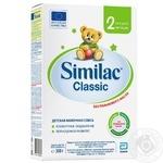 Смесь детская молочная Similac Classic 2 300г - купить, цены на Novus - фото 1
