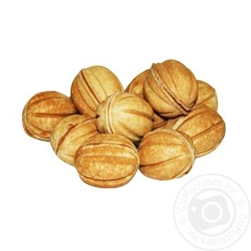 Печенье Жако Орешки со сгущенным молоком весовое